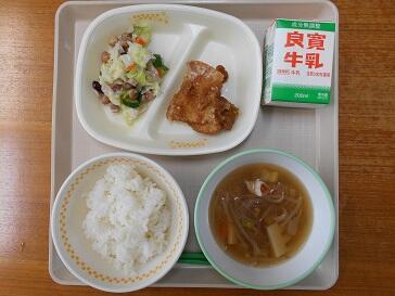 8月30日(月)の給食
