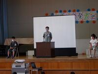代表児童のスピーチ