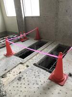 ここがトイレである証拠の穴